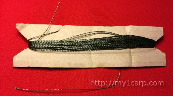 Плетеный шнур с разрывной нагрузкой 45 lb